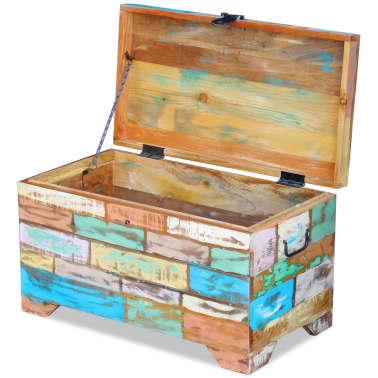 vidaXL Úložná truhla z masivního recyklovaného dřeva[7/9]