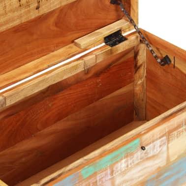 vidaXL Úložná truhla z masivního recyklovaného dřeva[9/9]