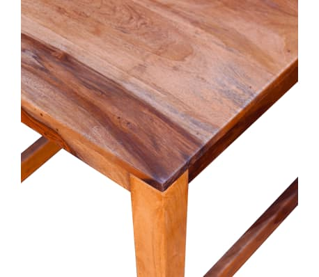 vidaXL Dining Chairs 2 pcs Solid Sheesham Wood[8/9]