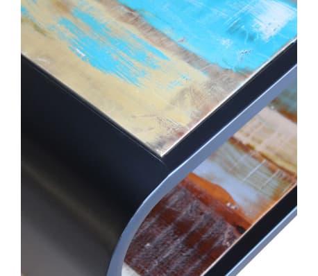 vidaXL Coffee Table Solid Reclaimed Wood[7/11]