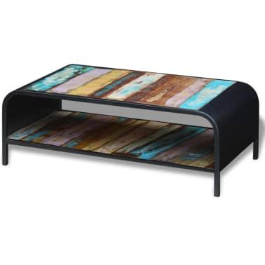 vidaXL Coffee Table Solid Reclaimed Wood[2/11]
