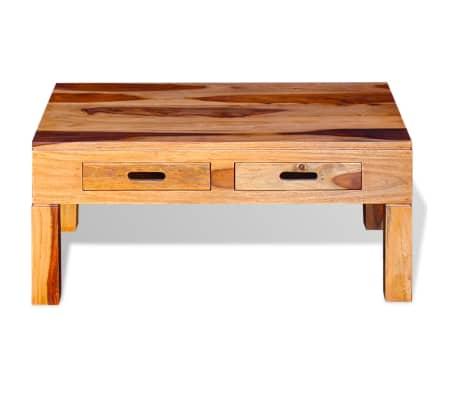 vidaXL Coffee Table Solid Sheesham Wood[6/10]