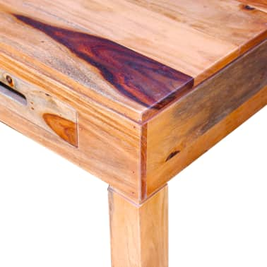 vidaXL Coffee Table Solid Sheesham Wood[9/10]