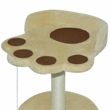 vidaxl katzen kratzbaum 40 cm gelb und braun zum schn ppchenpreis. Black Bedroom Furniture Sets. Home Design Ideas