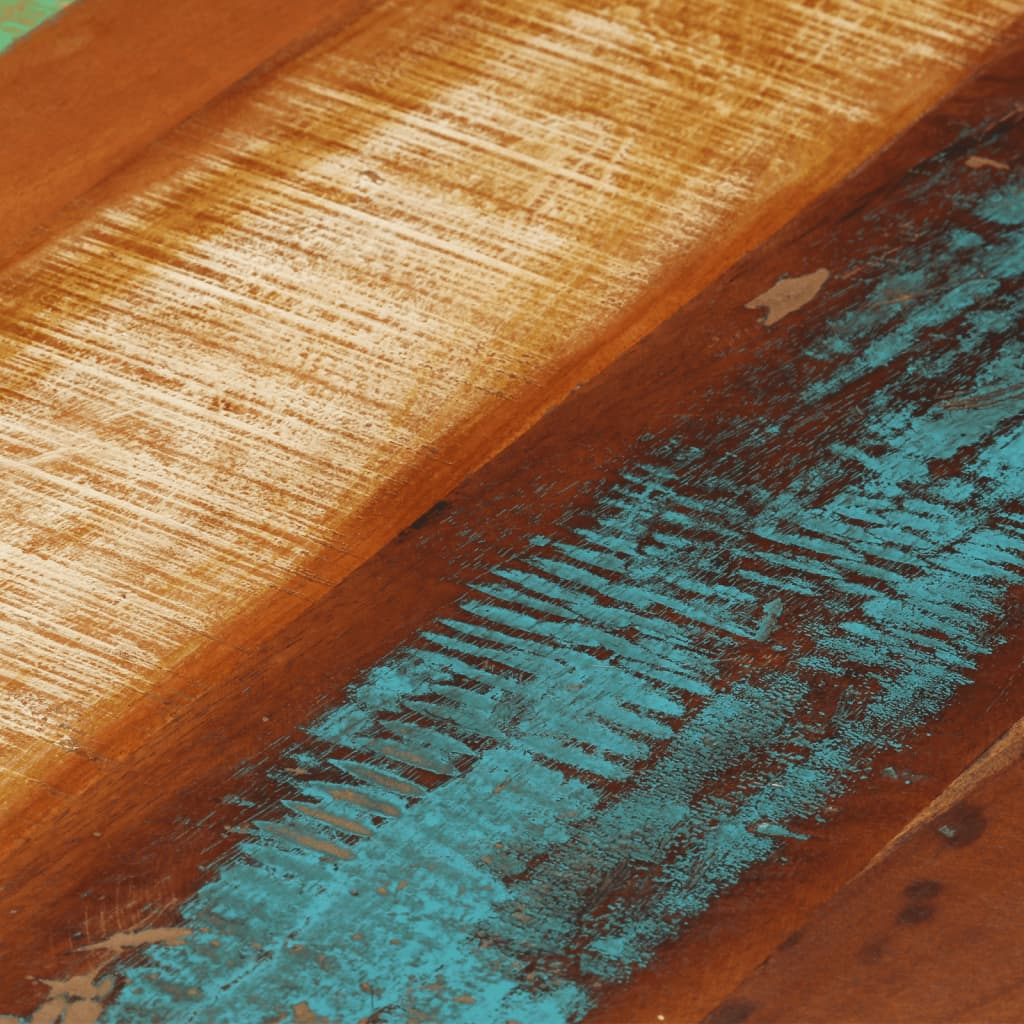 Outstanding Details About Round Coffee Table Retro Side Table Solid Reclaimed Wood 26 8X17Home Furniture Evergreenethics Interior Chair Design Evergreenethicsorg