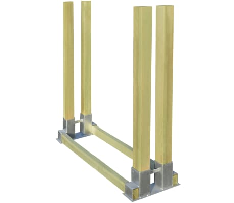 vidaXL Stivuitor pentru lemne de foc 1000 x 340 x 1000 mm