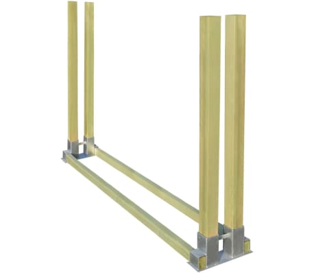 vidaXL Stivuitor pentru lemne de foc 2000x340x1250 mm
