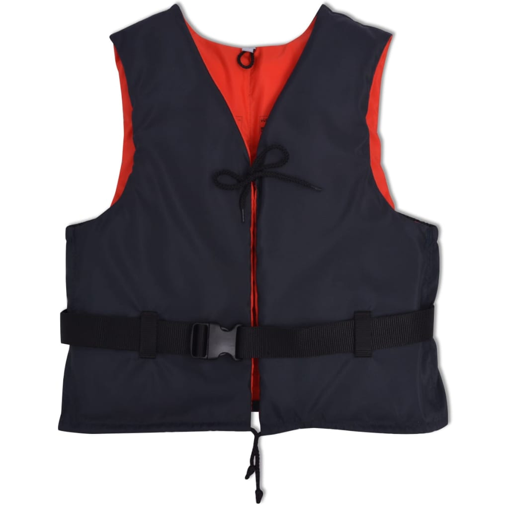 vidaXL Vestă de salvare 50 N, 30-50 kg, bleumarin poza 2021 vidaXL