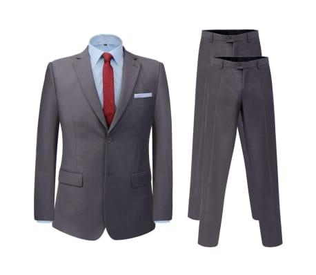 vidaXL Abito Completo Uomo con Pantalone Extra Grigio Taglia 46 1 8  b6b69285073