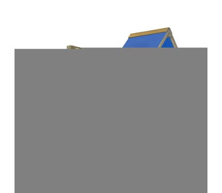vidaXL Playhouse Set with Ladder, Slide and Swings 290x260x245 cm Wood[3/10]