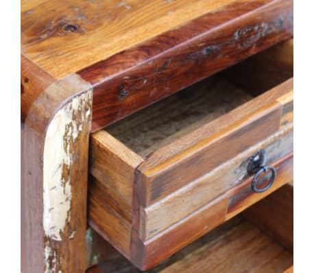 "vidaXL Night Cabinet Solid Reclaimed Wood 16.9""x13""x20""[3/9]"