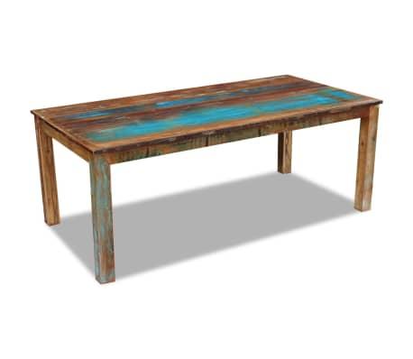 vidaXL Table de salle à manger Bois de récupération 200x100x76 cm