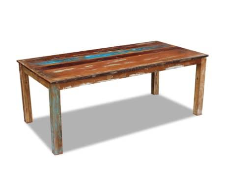 vidaxl esstisch recyceltes massivholz 200x100x76 cm g nstig kaufen. Black Bedroom Furniture Sets. Home Design Ideas