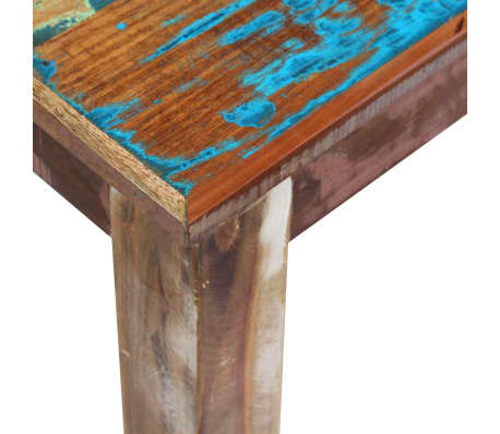 "vidaXL Bench Solid Reclaimed Wood 63""x13.8""x18.1""[7/8]"