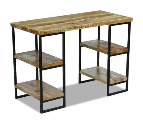 "vidaXL Office Desk Mango Wood 43.3""x19.7""x30""[1/8]"