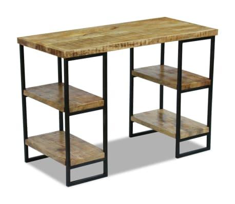 "vidaXL Office Desk Mango Wood 43.3""x19.7""x30""[5/8]"