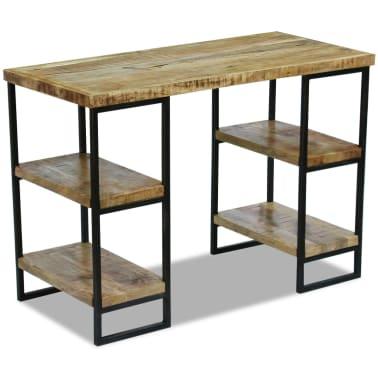 "vidaXL Office Desk Mango Wood 43.3""x19.7""x30""[4/8]"