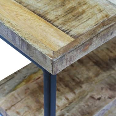 "vidaXL Office Desk Mango Wood 43.3""x19.7""x30""[7/8]"