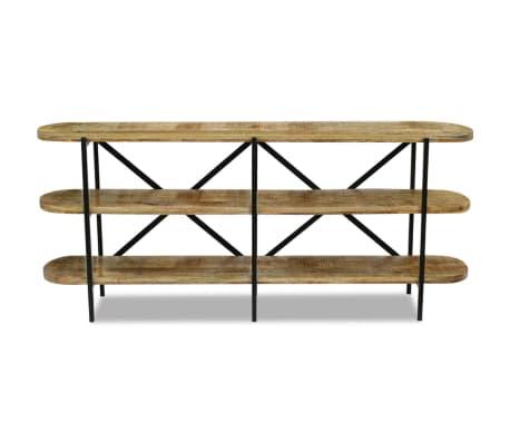 acheter vidaxl buffet bois de manguier 180 x 30 x 76 cm pas cher. Black Bedroom Furniture Sets. Home Design Ideas