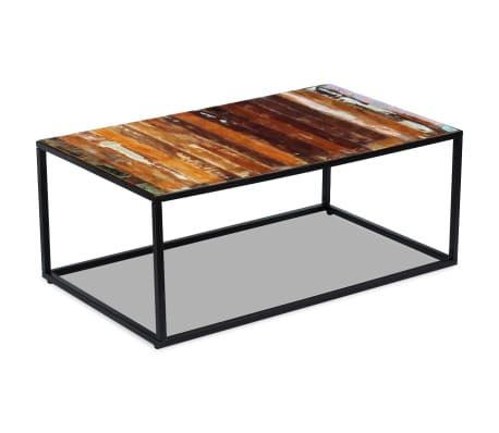 "vidaXL Coffee Table Solid Reclaimed Wood 39.4""x23.6""x15.7""[2/8]"