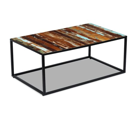 "vidaXL Coffee Table Solid Reclaimed Wood 39.4""x23.6""x15.7""[3/8]"
