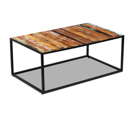 "vidaXL Coffee Table Solid Reclaimed Wood 39.4""x23.6""x15.7""[5/8]"