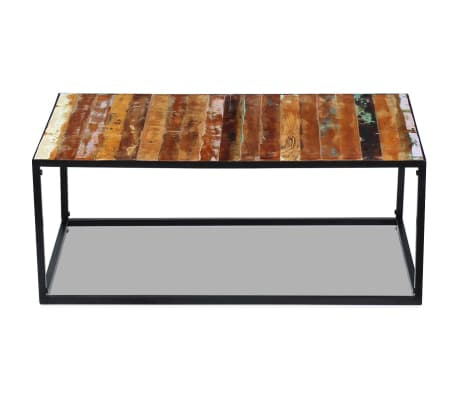 "vidaXL Coffee Table Solid Reclaimed Wood 39.4""x23.6""x15.7""[6/8]"