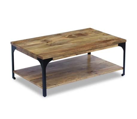 Vidaxl Coffee Table Mango Wood 39 4 X23 6 X15 Vidaxl Com