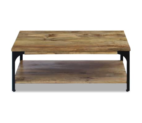 "vidaXL Coffee Table Mango Wood 39.4""x23.6""x15""[6/7]"