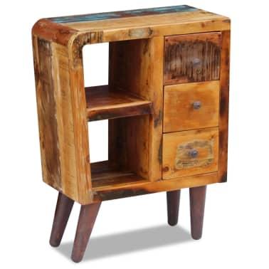"""vidaXL Sideboard Solid Reclaimed Wood 23.6""""x11.8""""x31.5""""[5/8]"""