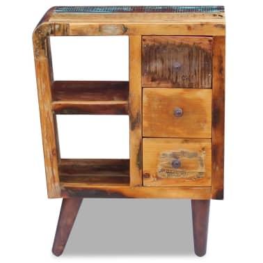 """vidaXL Sideboard Solid Reclaimed Wood 23.6""""x11.8""""x31.5""""[6/8]"""