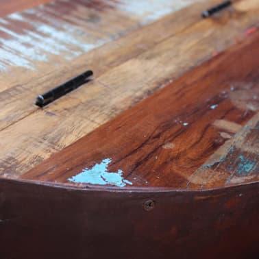 vidaXL Dubens formos kavos staliukas, 2 dalių , perdirbta mediena[8/9]