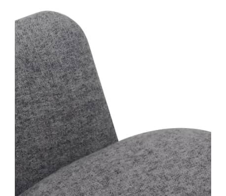 vidaxl esszimmerst hle 4 stk stoff grau g nstig kaufen. Black Bedroom Furniture Sets. Home Design Ideas
