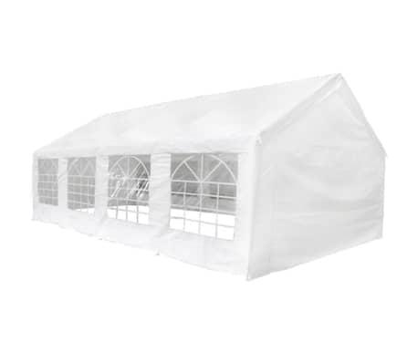 vidaxl pavillon wei 8x4 m g nstig kaufen. Black Bedroom Furniture Sets. Home Design Ideas