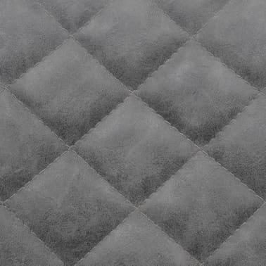 vidaxl esszimmerst hle 6 stk kunstleder grau g nstig kaufen. Black Bedroom Furniture Sets. Home Design Ideas