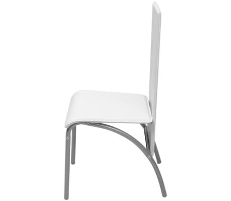 Vidaxl sillas de comedor 6 unidades blancas - Sillas comedor blancas ...