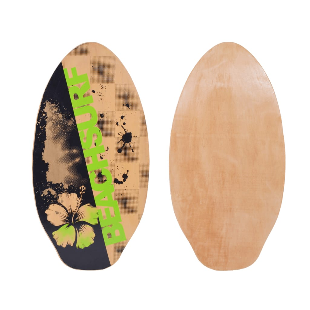 vidaXL Placă Skimboard Multicolor 104 cm Placaj imagine vidaxl.ro