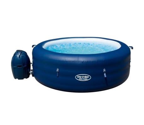 Bestway Lay-z-Spa Pripučiama sūkurinė vonia, 196x61cm, polirat. rėmas[5/12]
