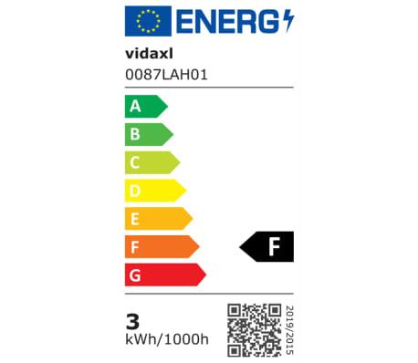 vidaXL Lauko LED sien. šviest., 2vnt., nerūd. plien., šviesa į apačią[6/7]