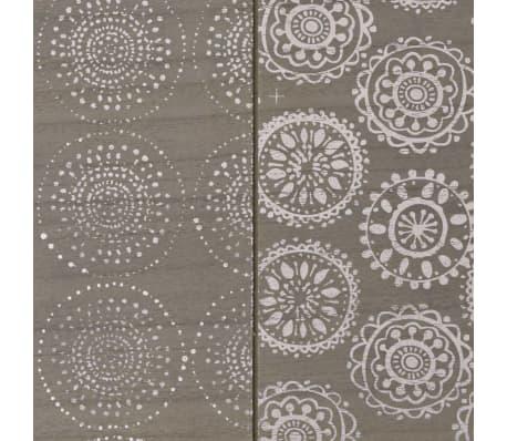 """vidaXL Console Table 35.4""""x11.8""""x28"""" Gray[5/7]"""