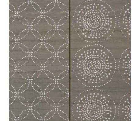 vidaXL Console Table 90x30x71.5 cm Grey[6/7]