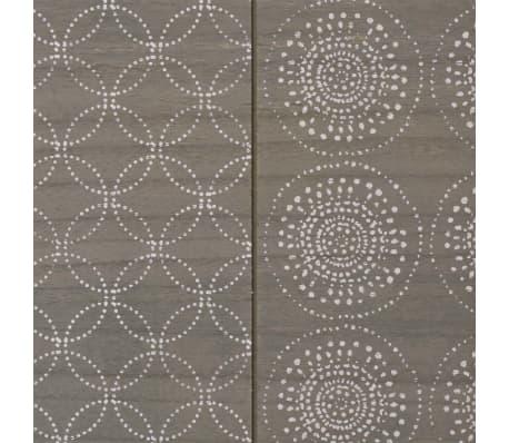 """vidaXL Console Table 35.4""""x11.8""""x28"""" Gray[6/7]"""