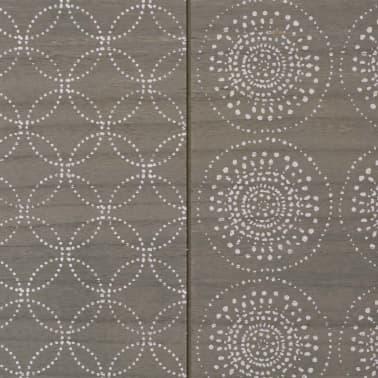 vidaXL Konsolinis staliukas, 90x30x71,5 cm, pilkas[6/7]