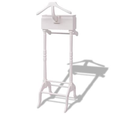 vidaxl kleiderst nder mit schubladen wei holz im vidaxl trendshop. Black Bedroom Furniture Sets. Home Design Ideas