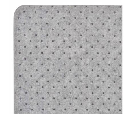 vidaxl tapis de chaise plancher bambou marron 110 x 130 cm. Black Bedroom Furniture Sets. Home Design Ideas