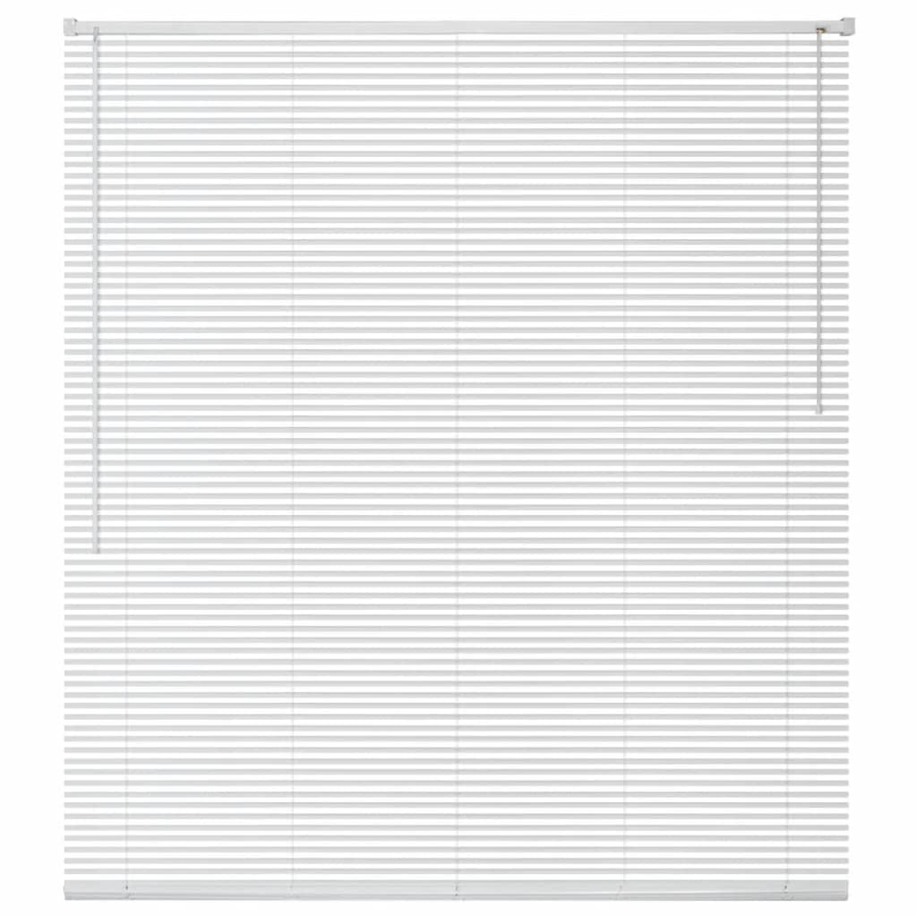 Okenní žaluzie hliník 60x130 cm bílá