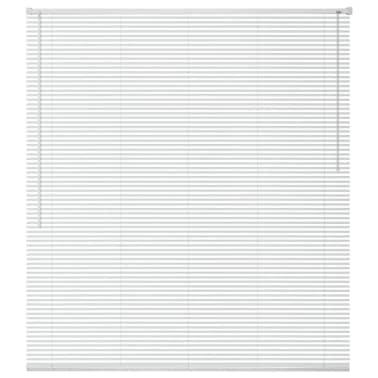 vidaXL Persienner Aluminium 60x130 cm Hvit[1/4]
