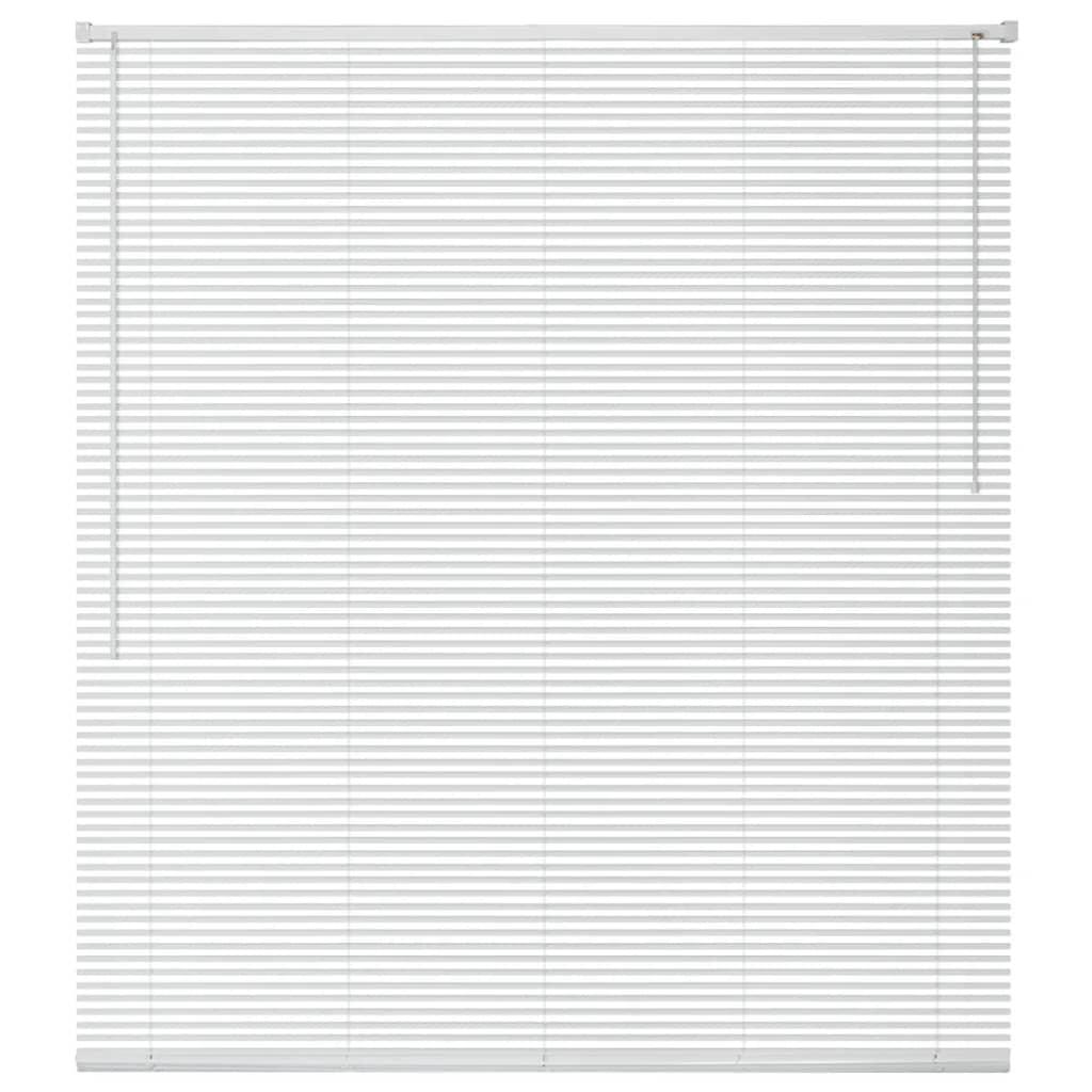 Okenní žaluzie hliník 60x160 cm bílá