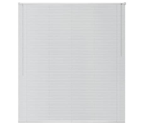 Cortinas Venecianas En Caja De Lujo De Aluminio Blanco listones de 25mm