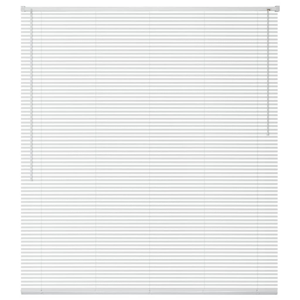 vidaXL Jaluzele din aluminiu, 100 x 220 cm, alb imagine vidaxl.ro
